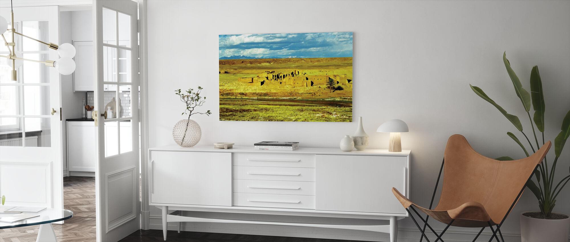 Lege stad - Canvas print - Woonkamer