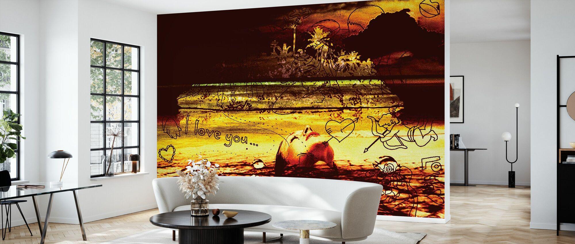 Love Poison - Wallpaper - Living Room