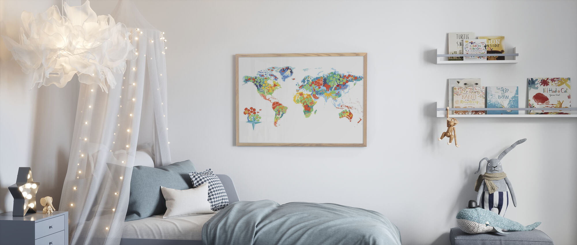 Wonderful World - Poster - Kids Room