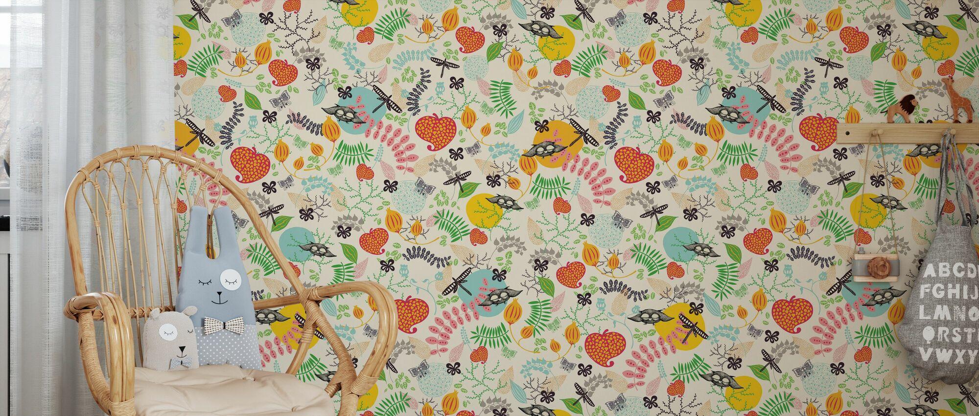 Épices de forêt - Papier peint - Chambre des enfants