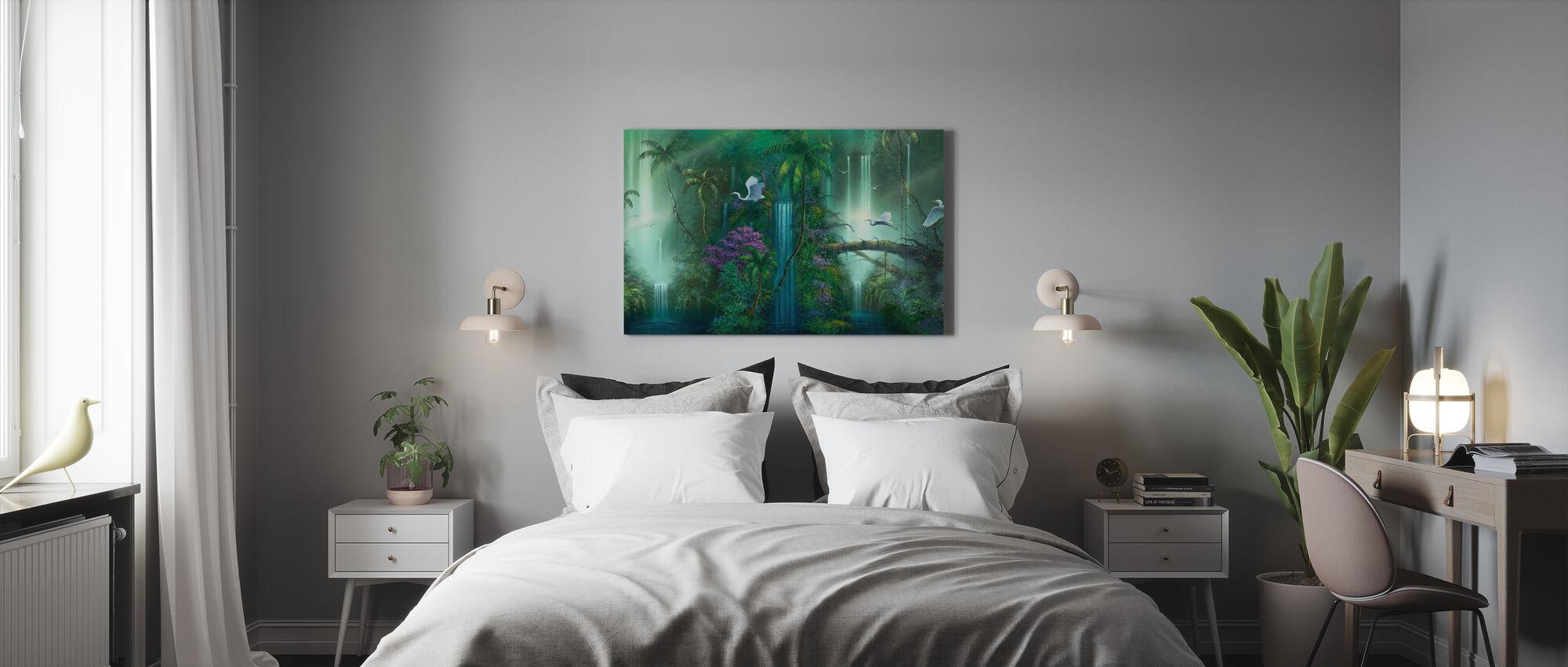 Waterfall Fantasy - Canvas print - Bedroom