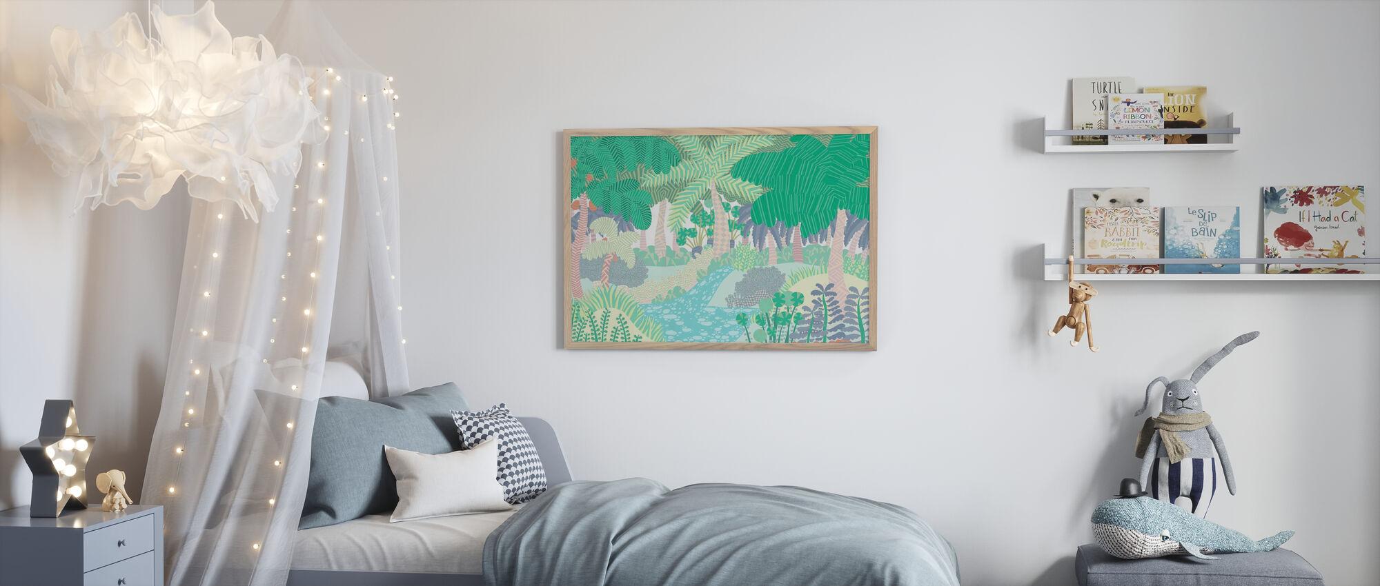 Dschungel - Poster - Kinderzimmer