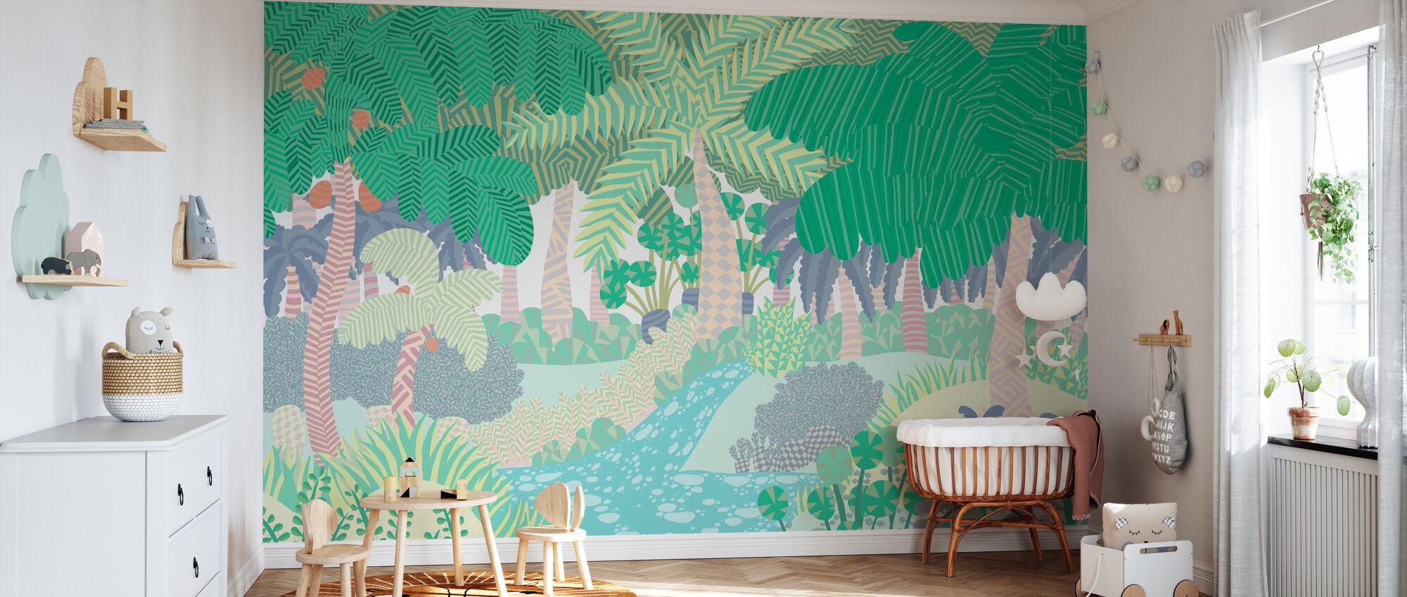 Jungle - Wallpaper - Nursery