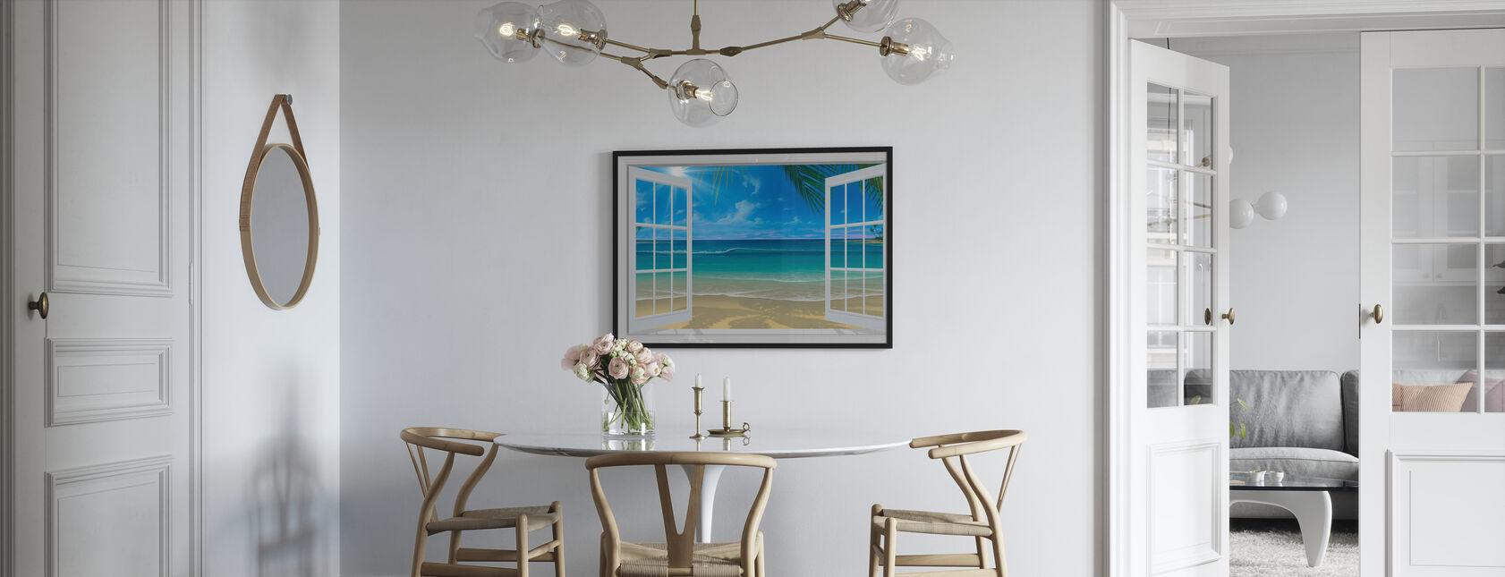 Sunshine Through Window - Framed print - Kitchen
