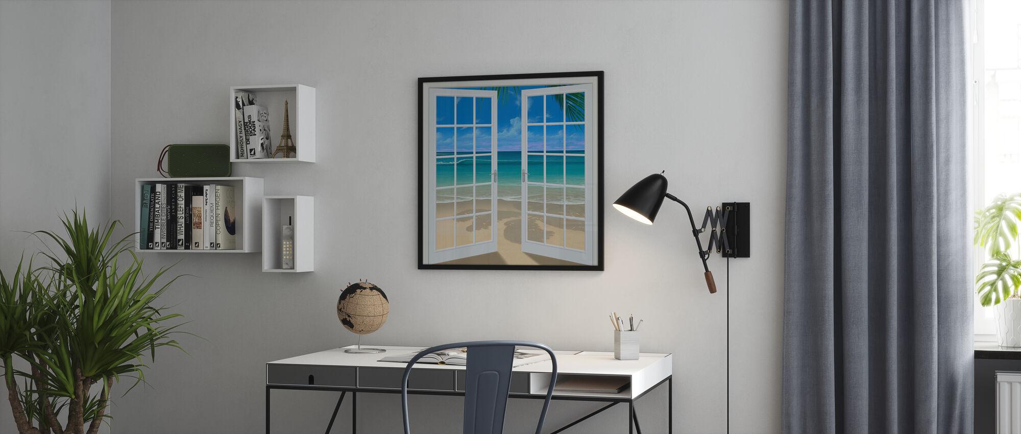 Let the Sun Shine In - Framed print - Office