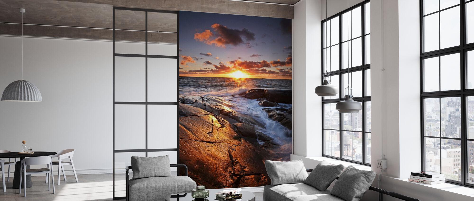 The Golden Rock - Wallpaper - Office