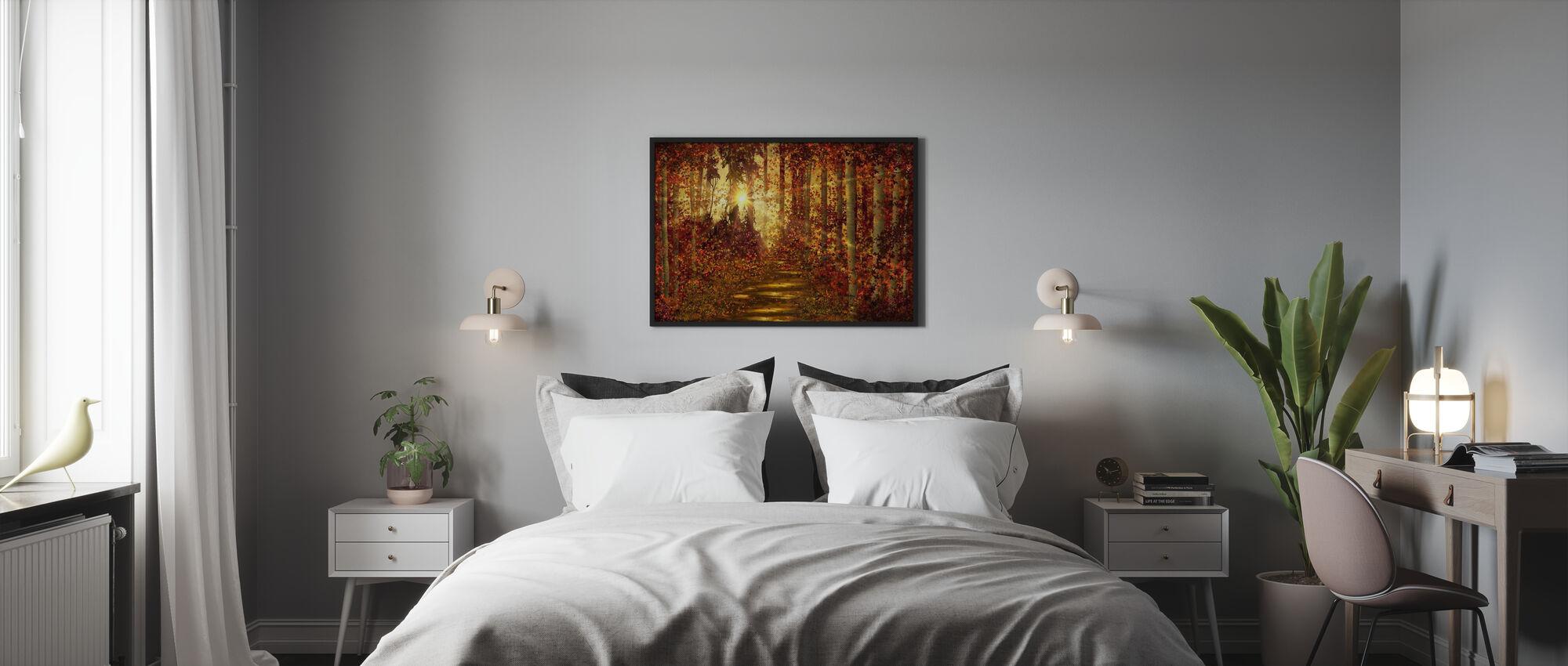 Forest Trails - Framed print - Bedroom