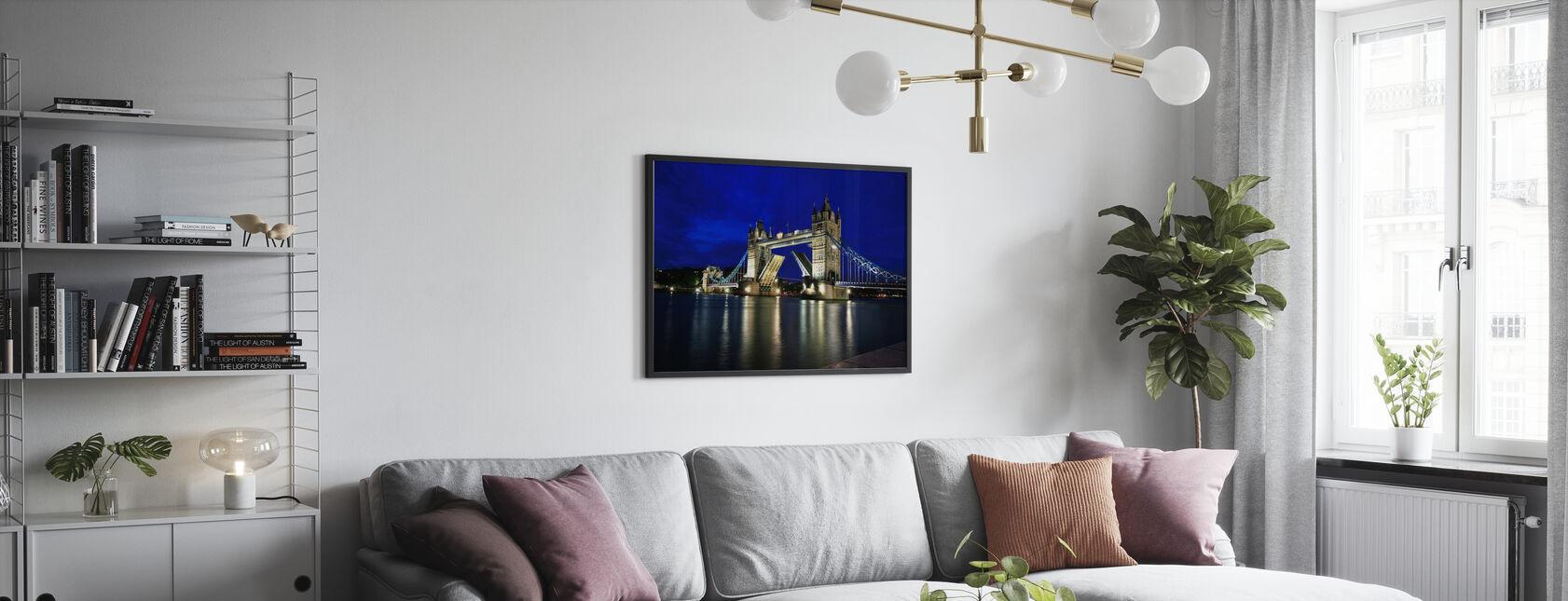 Tower Bridge om natten - Plakat - Stue