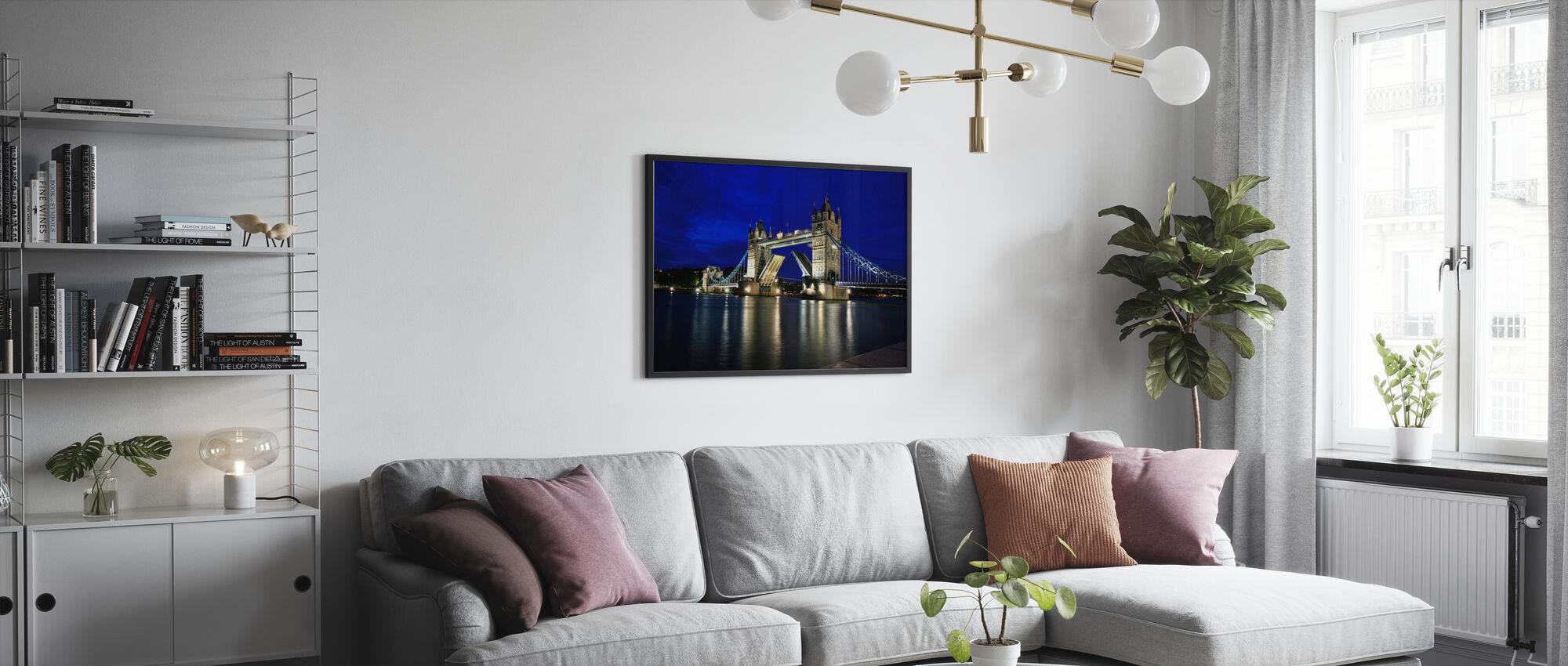 Tower Bridge at Night - Poster - Living Room