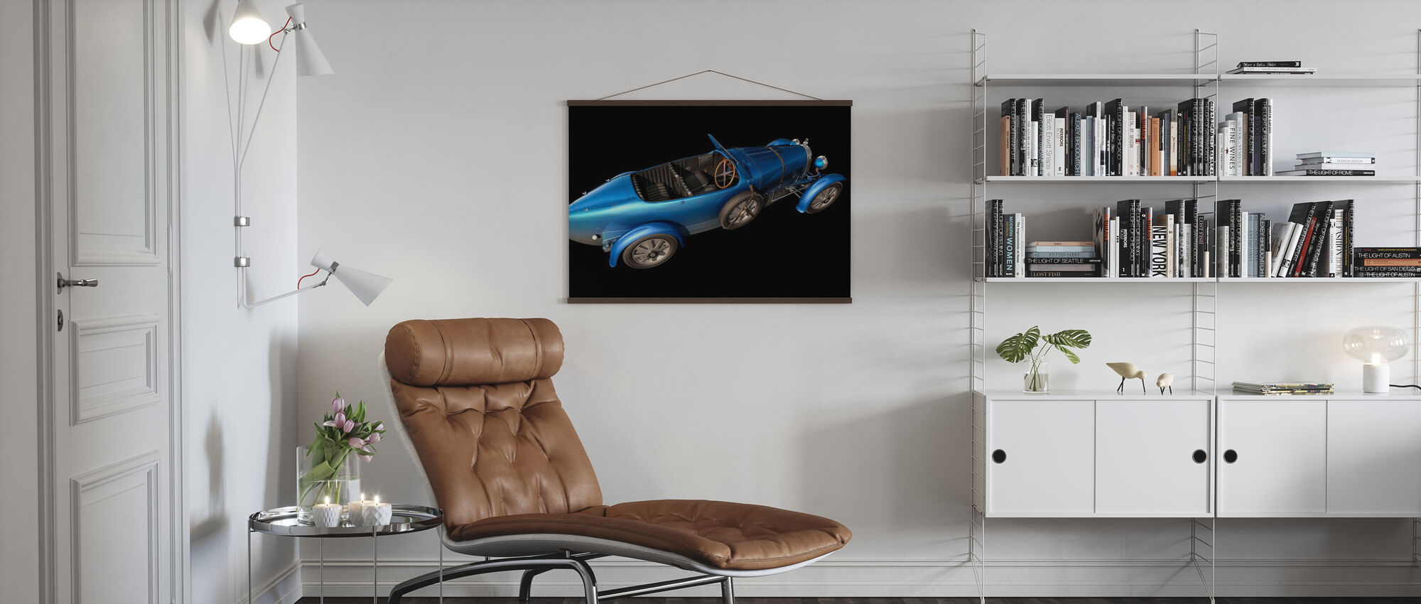 French car from 1927 - Poster - Living Room
