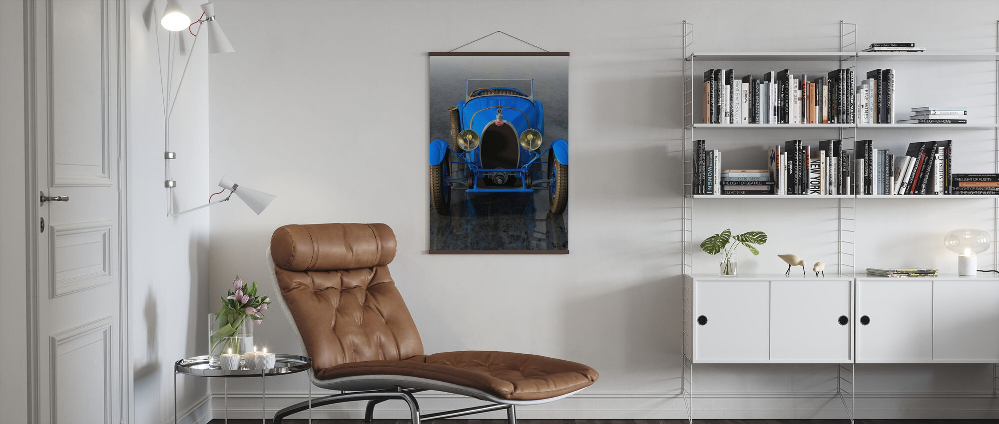 French Car from 1927 Front - Poster - Living Room
