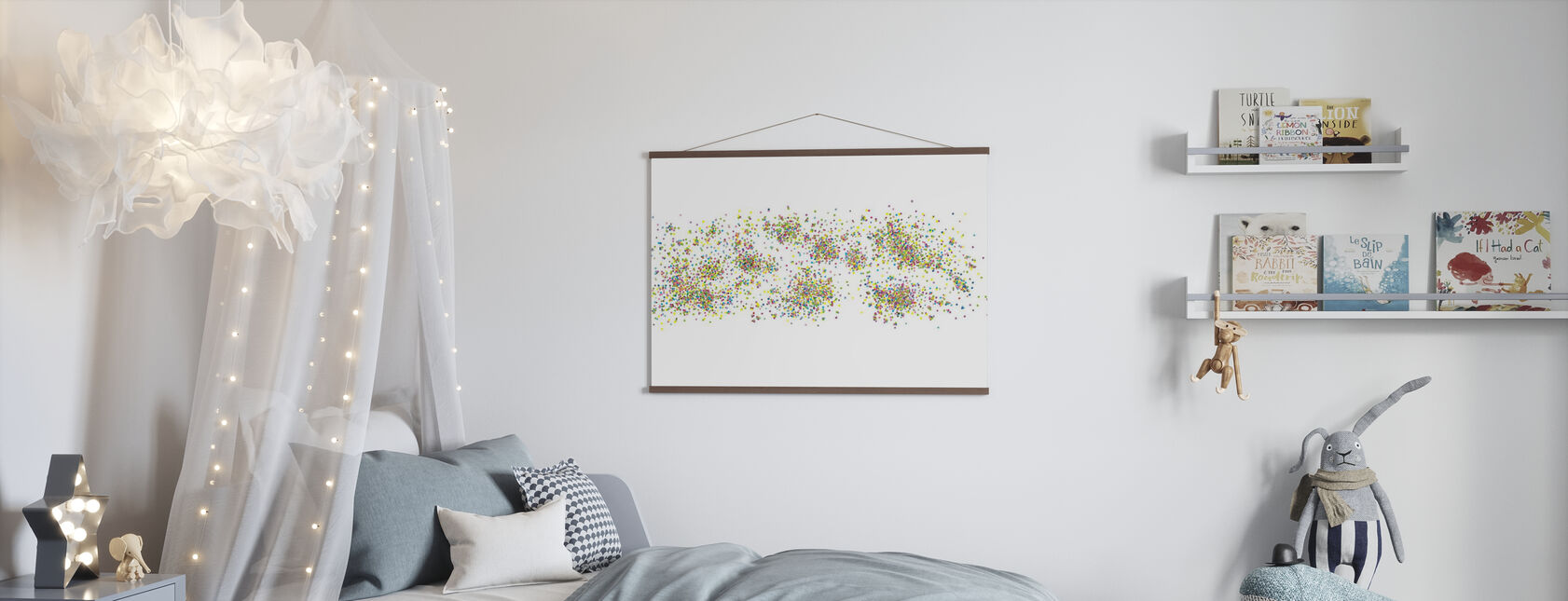Variegated Dots - Poster - Kids Room