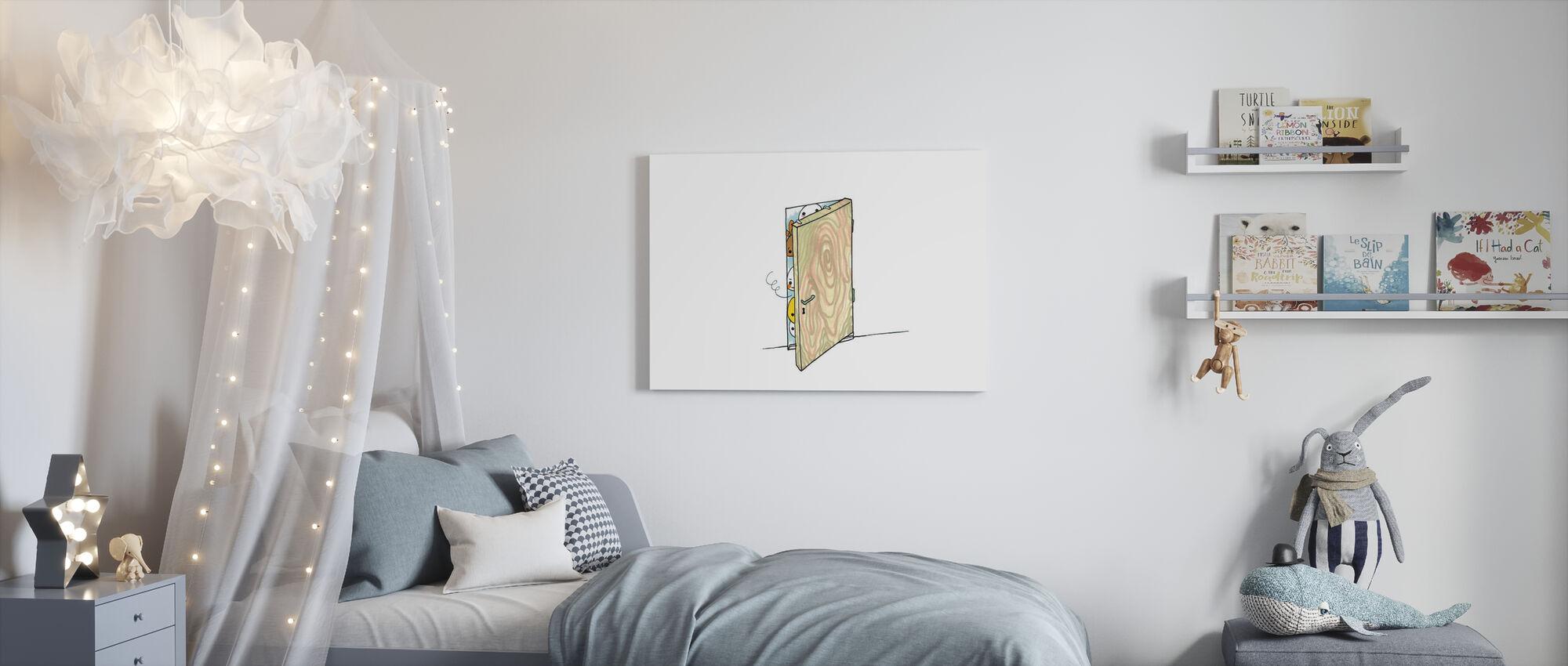 Tittut - Canvas print - Kids Room