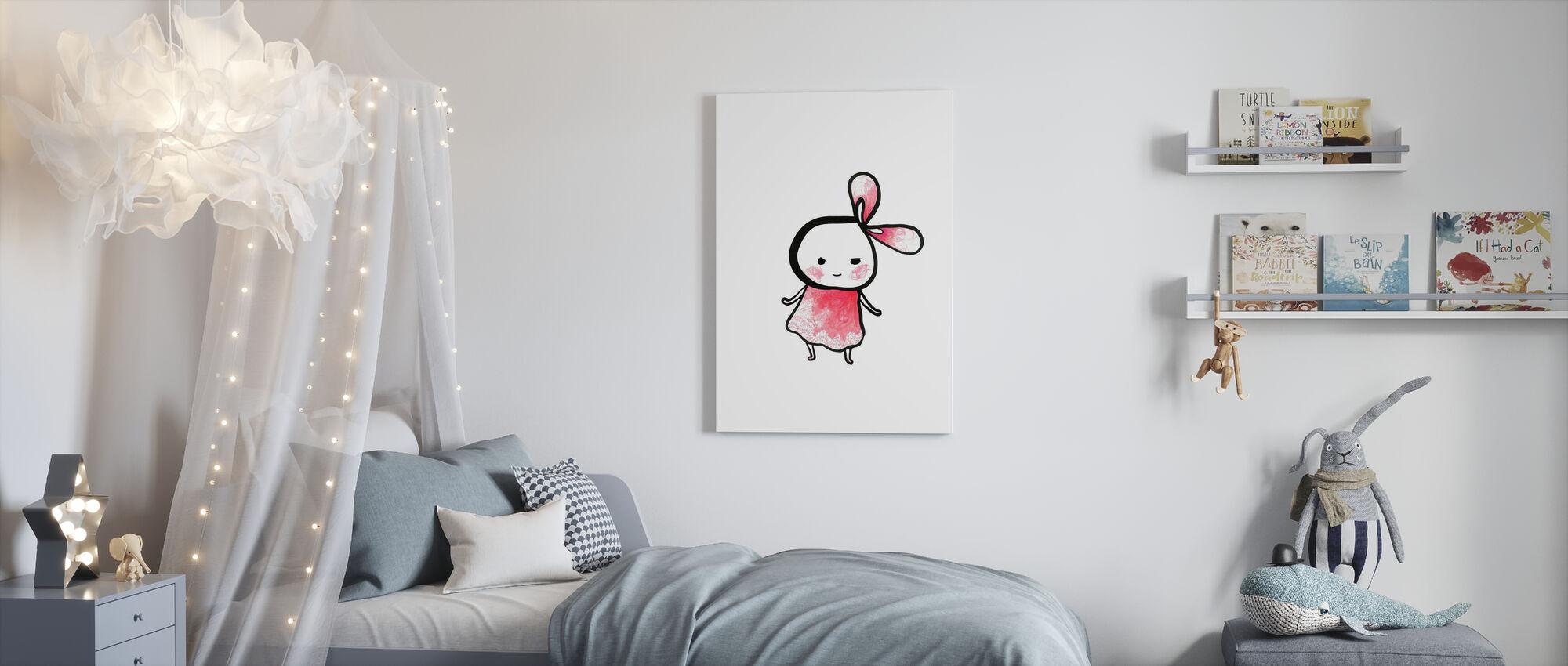 Plus Rose - Plus Cut - Impression sur toile - Chambre des enfants
