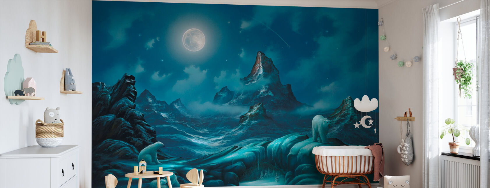 Lords of the Arctic - Wallpaper - Nursery