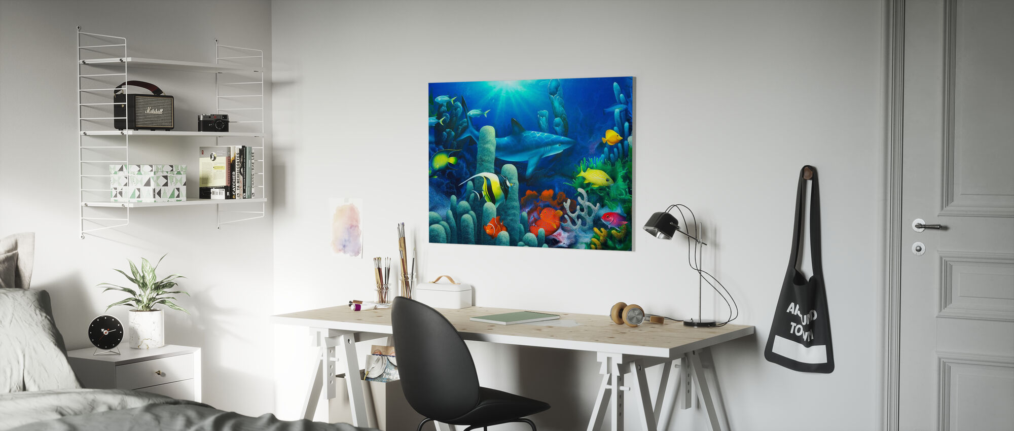 Lords of the Sea - Canvas print - Kids Room
