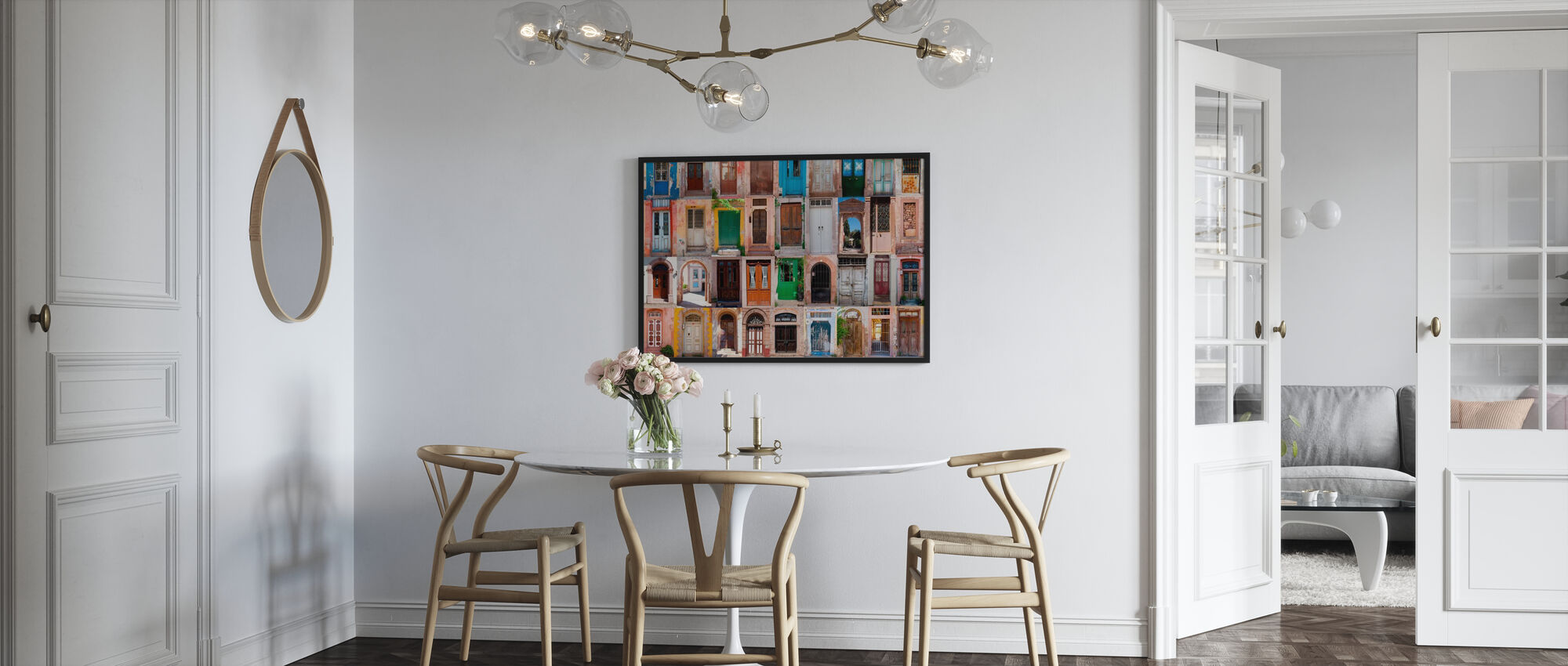 Colorful Doors - Poster - Kitchen
