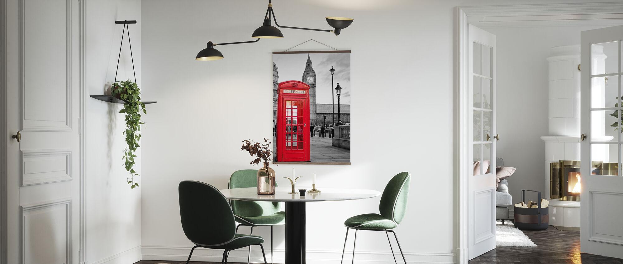 London Telephone - Poster - Kitchen