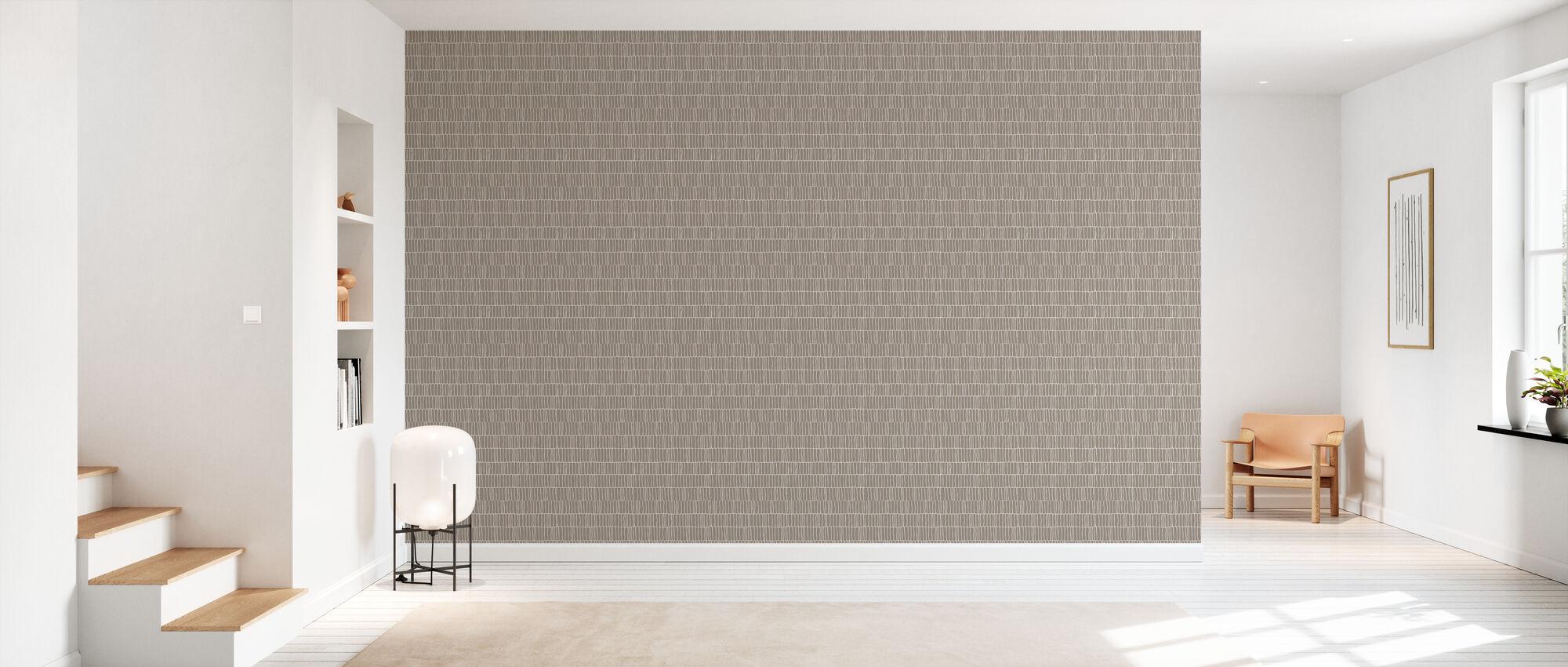 Columns - Beige - Wallpaper - Hallway
