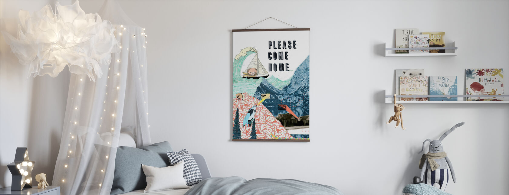 Please Come Home - Poster - Kids Room