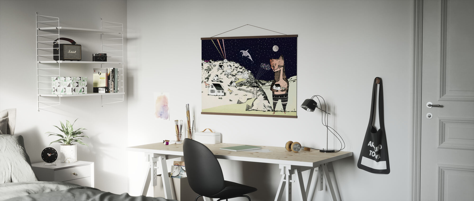 Night Picnic - Poster - Office