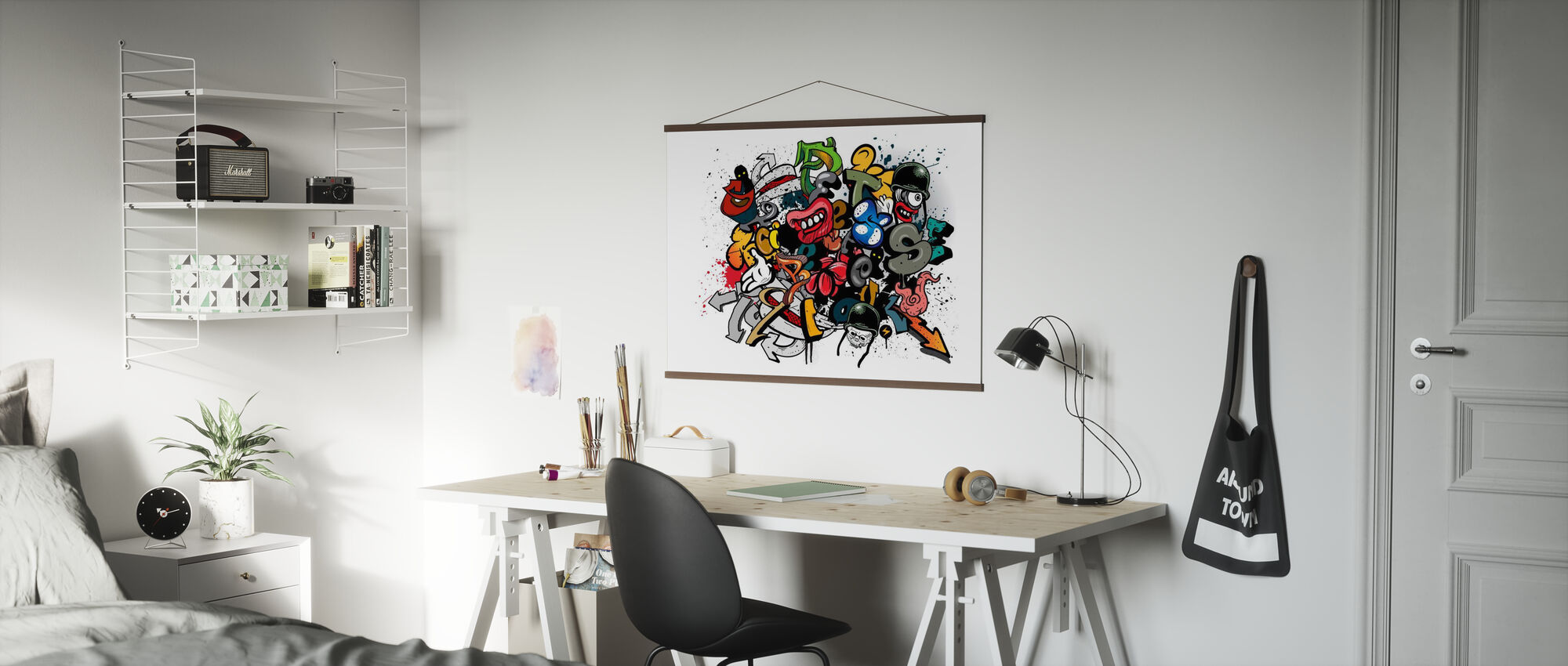 Graffiti Elements - Poster - Office