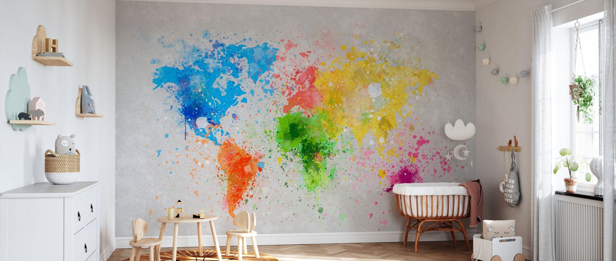 Colorful World - Wallpaper - Nursery