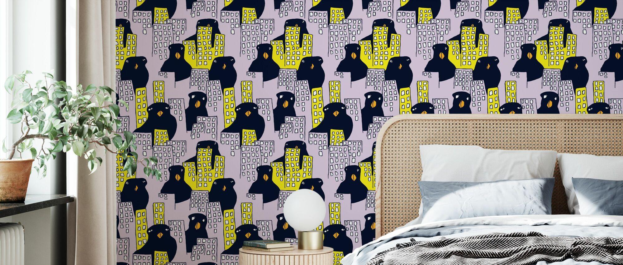 Åjabaduva Flemingsberg - Wallpaper - Bedroom