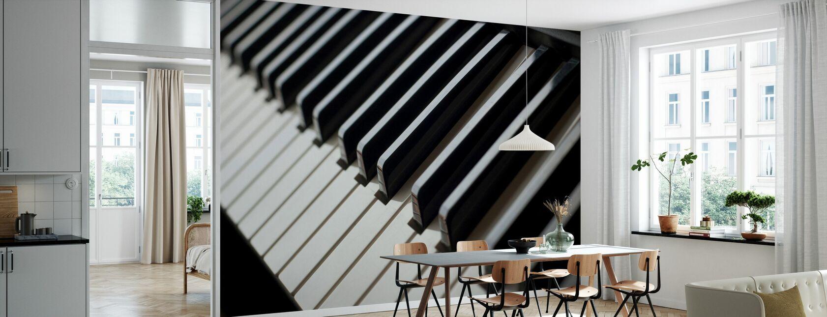Piano Tangentbord - Tapet - Kök