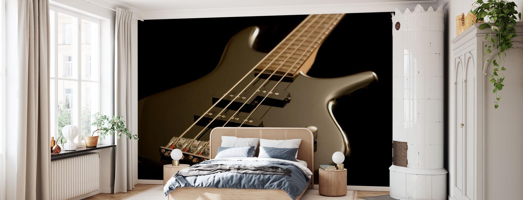 Electric Bass Guitar - Wallpaper - Bedroom