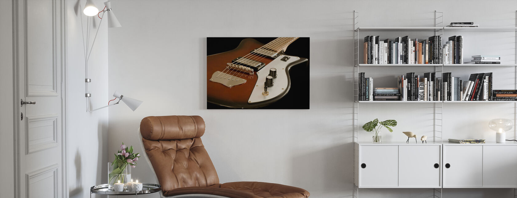 Electric Guitar - Canvas print - Living Room