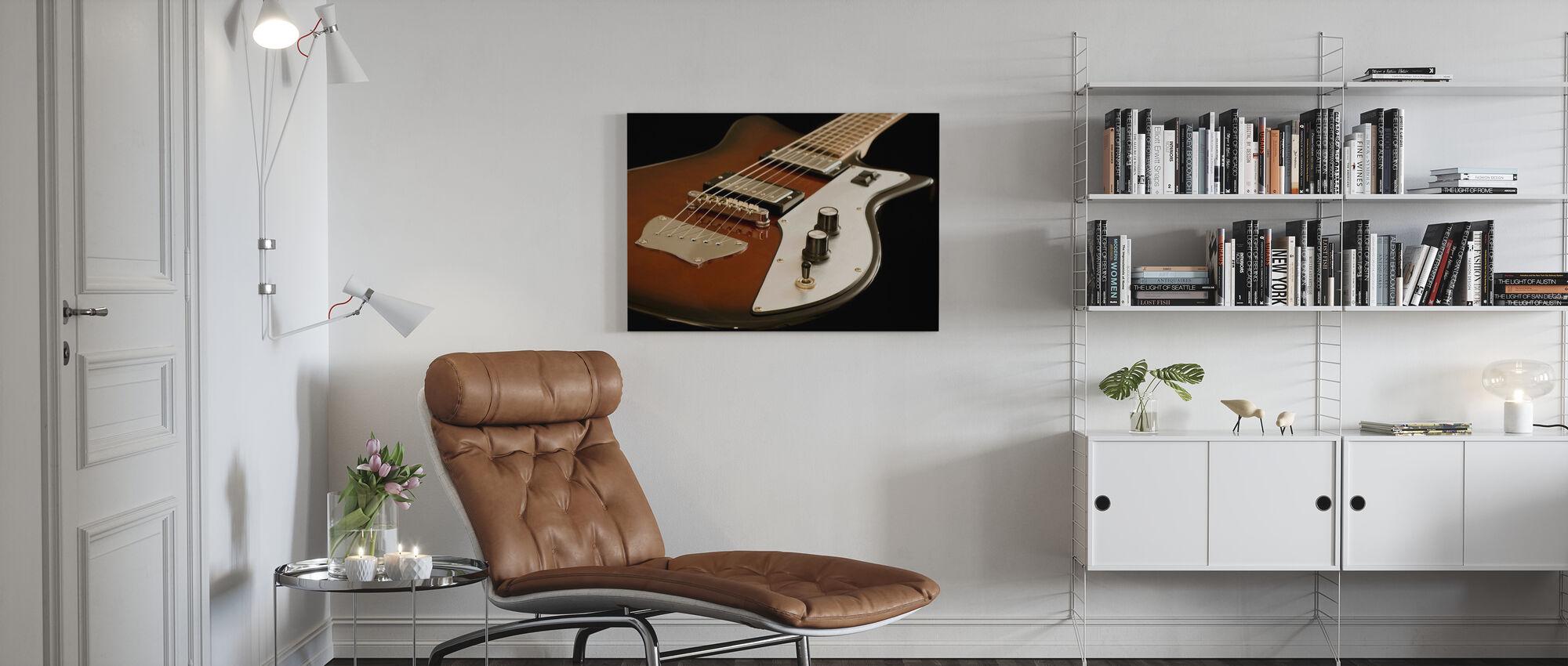Guitare Électrique - Impression sur toile - Salle à manger