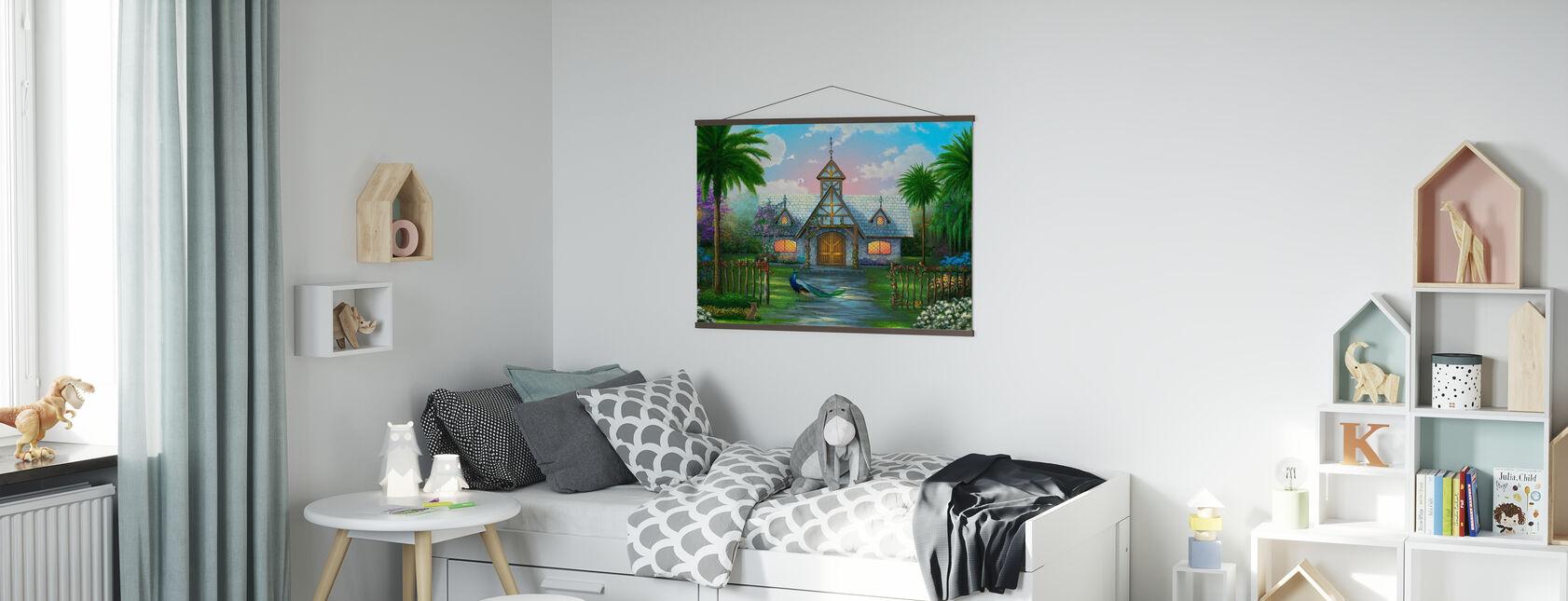 Paradise Cottage - Poster - Kinderkamer