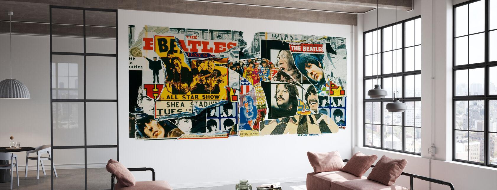 Beatles - Posters vintage - Papel pintado - Oficina