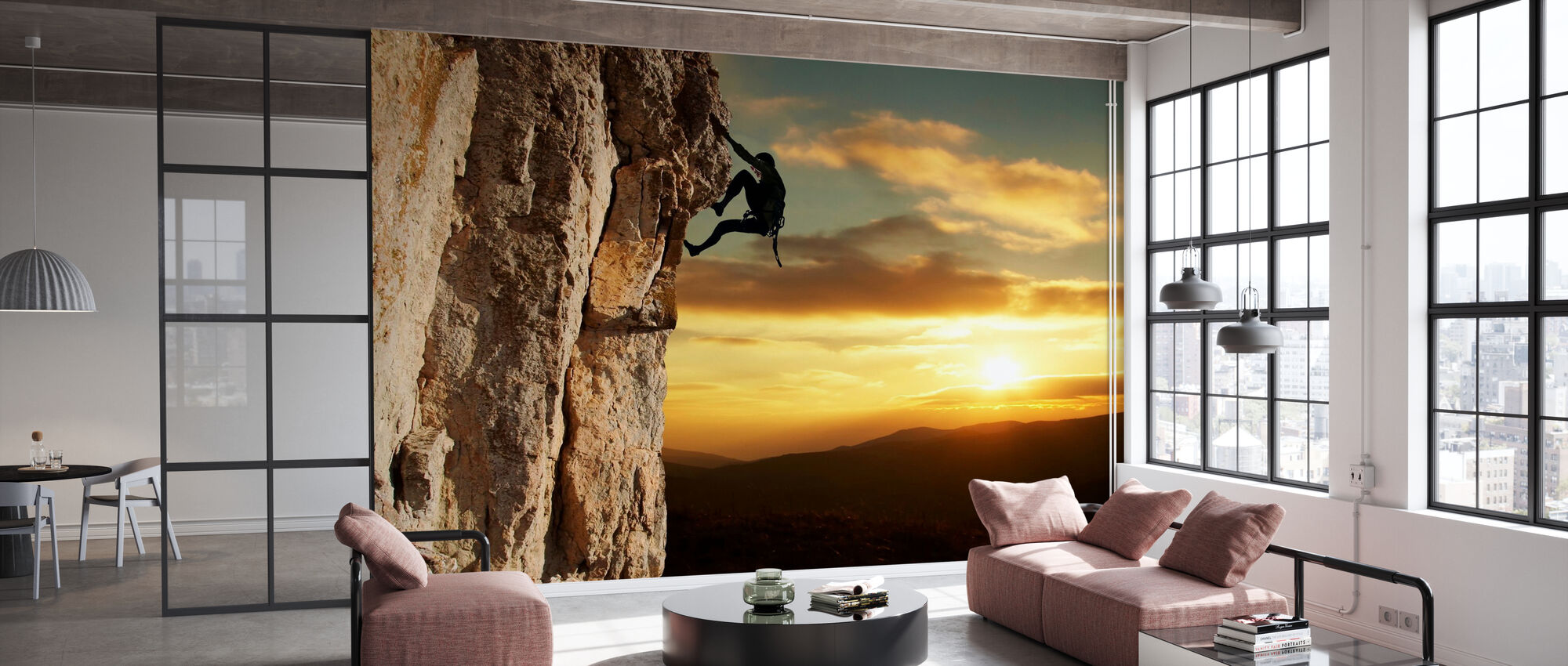 Rock Climber - Wallpaper - Office