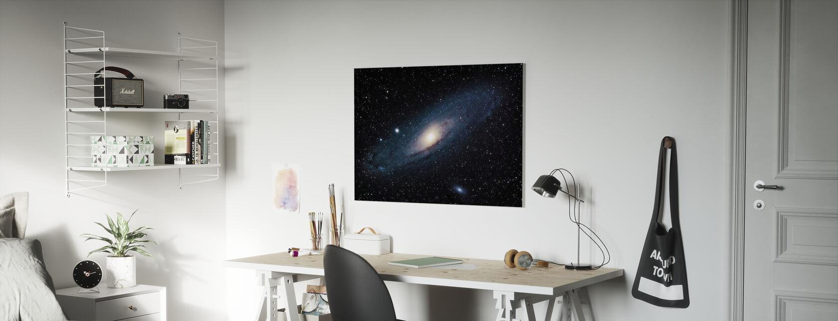 Andromeda Galaxy - Canvas print - Kids Room