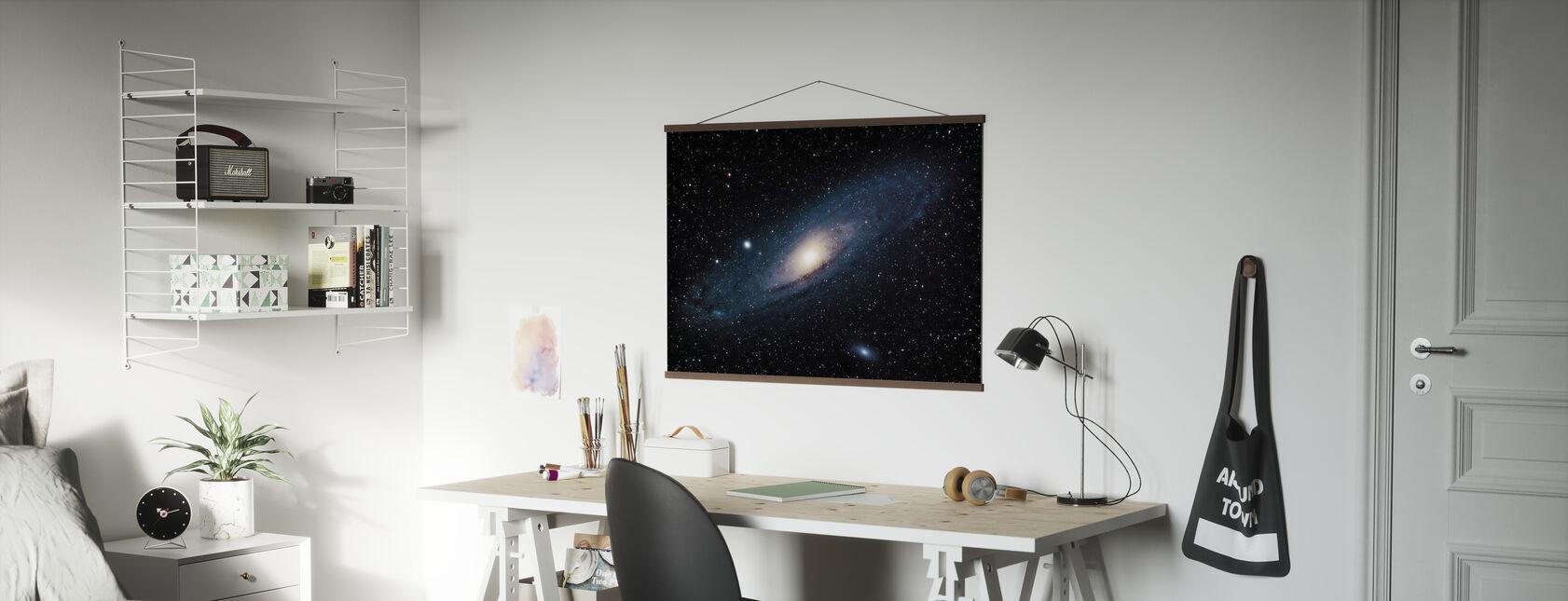Andromeda Galaxy - Poster - Office