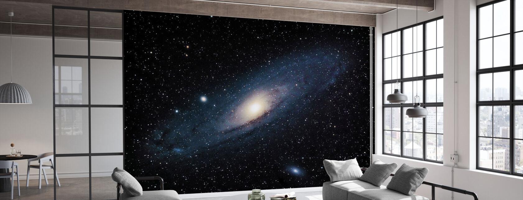 Andromeda Galaxy - Tapetti - Toimisto