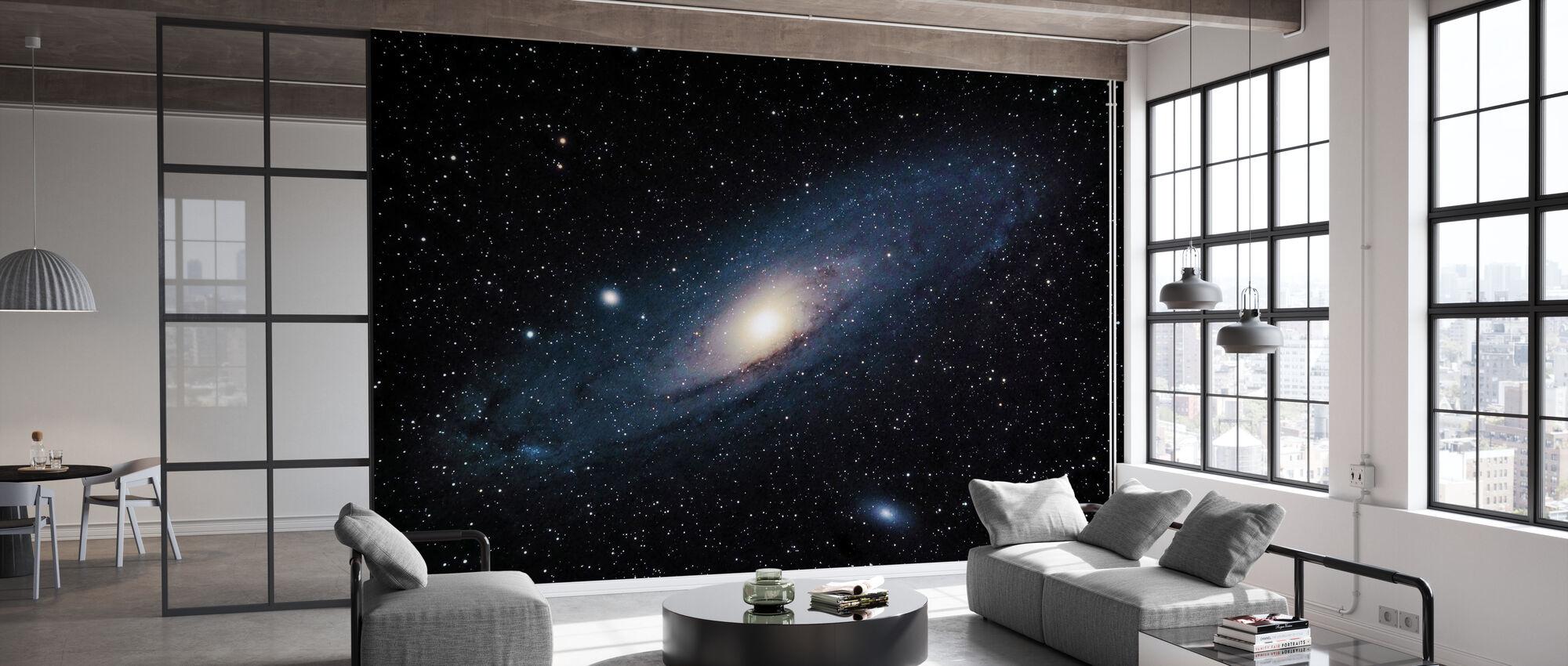Andromeda Galaxie - Tapete - Büro
