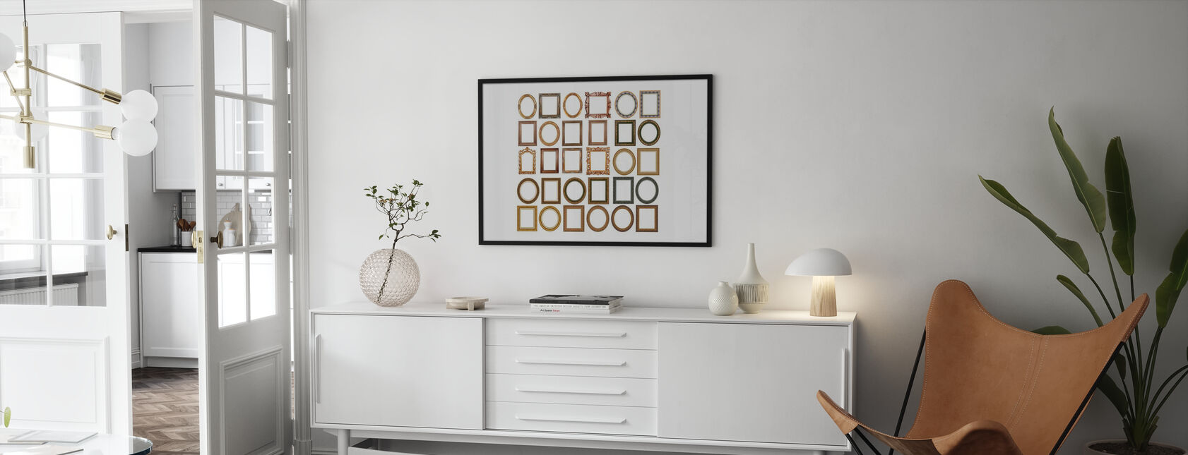 Guld Ramar - Poster - Vardagsrum