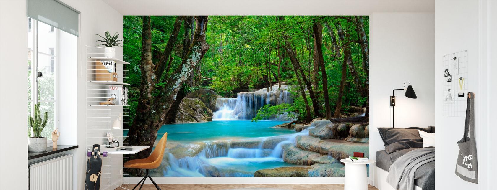 Erawan vesiputous Thaimaa - Tapetti - Lastenhuone