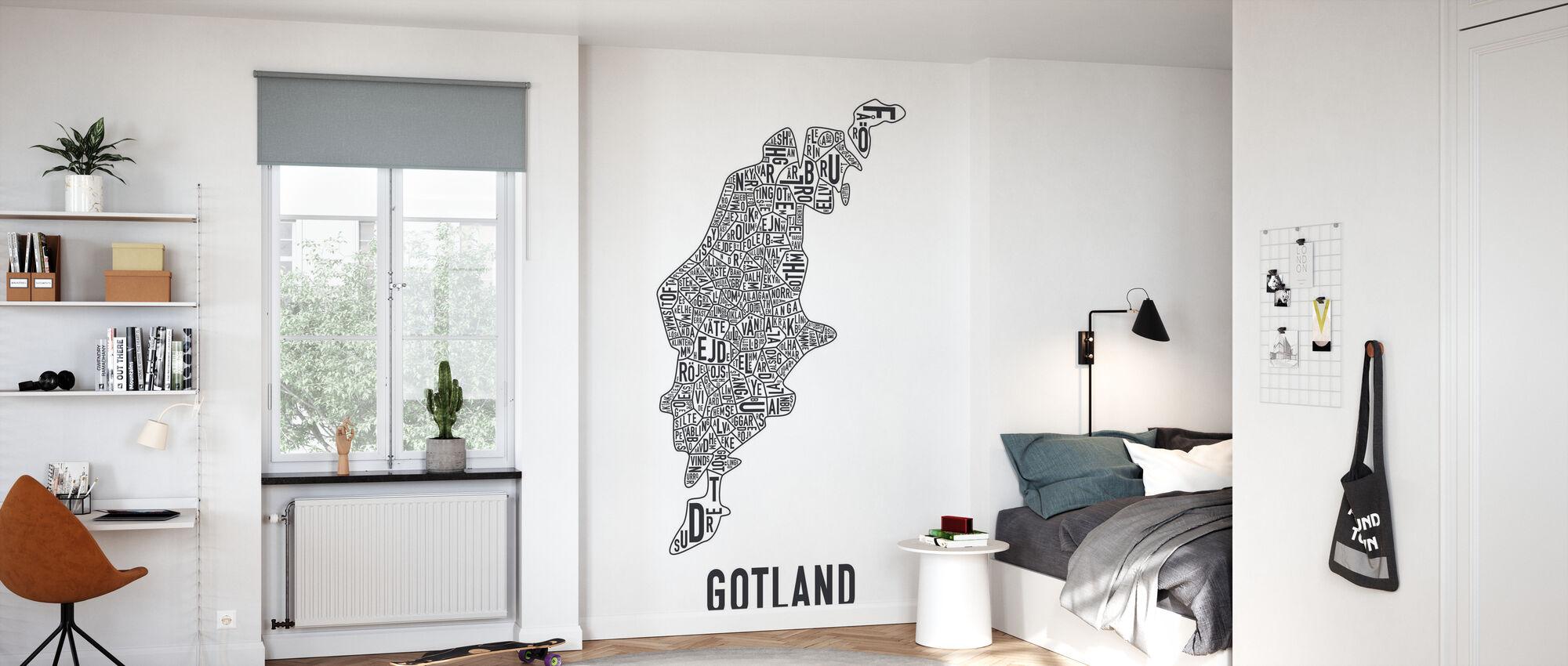 - Gotland - Behang - Kinderkamer