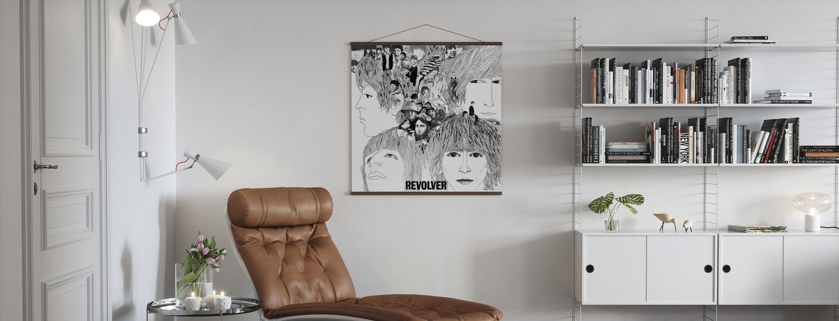 Beatles - Revolver - Poster - Woonkamer
