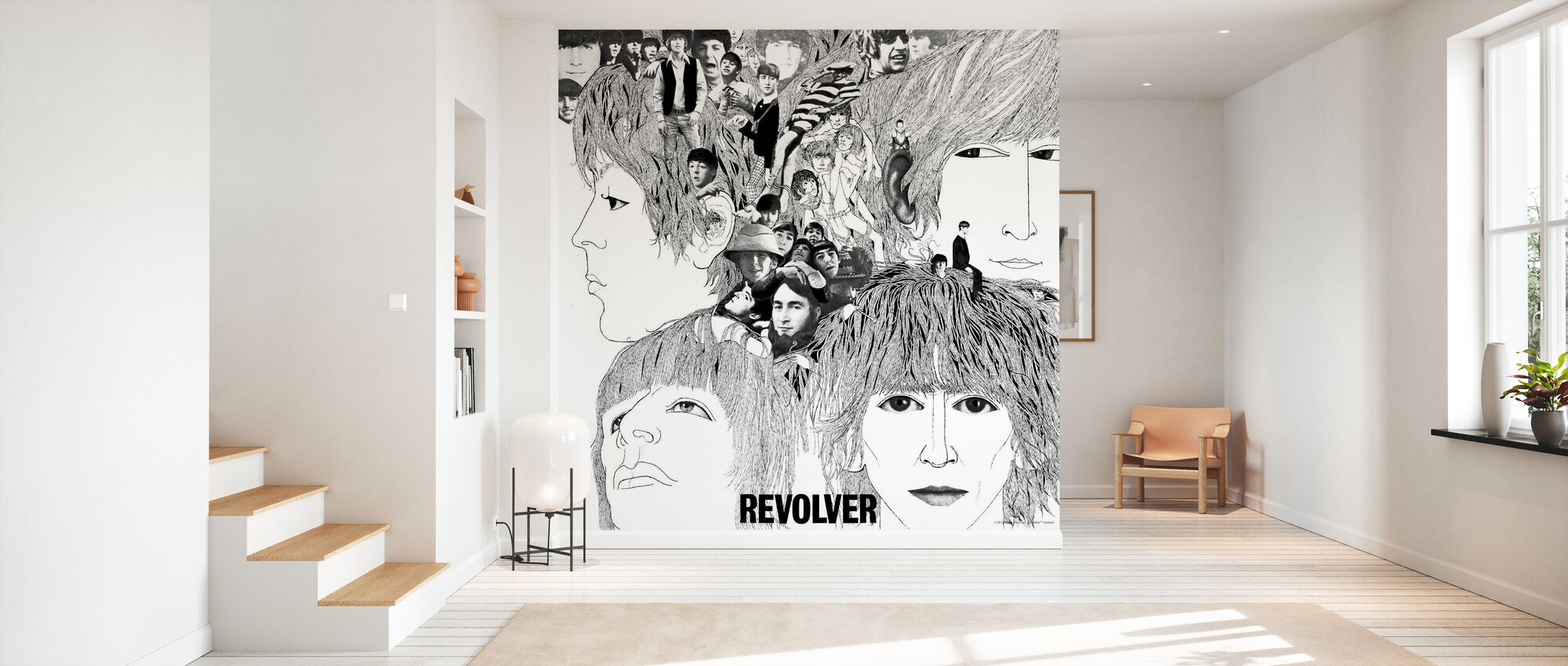 Beatles - Revolver - Wallpaper - Hallway