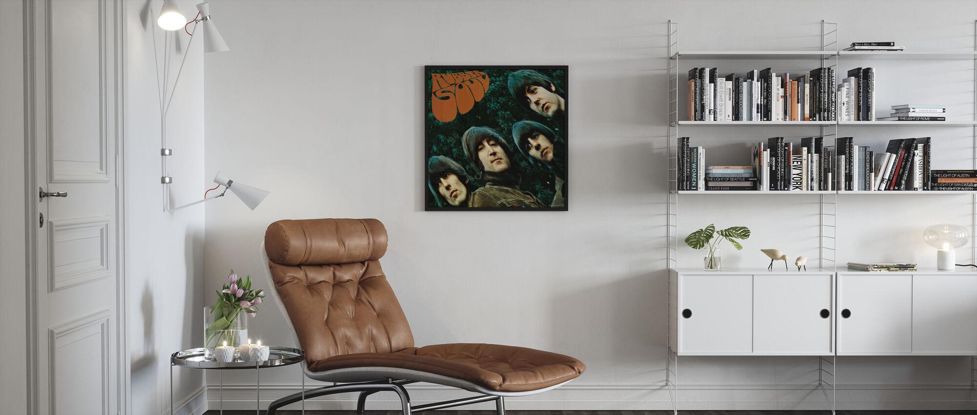 Beatles - kumi sielu - Kehystetty kuva - Olohuone