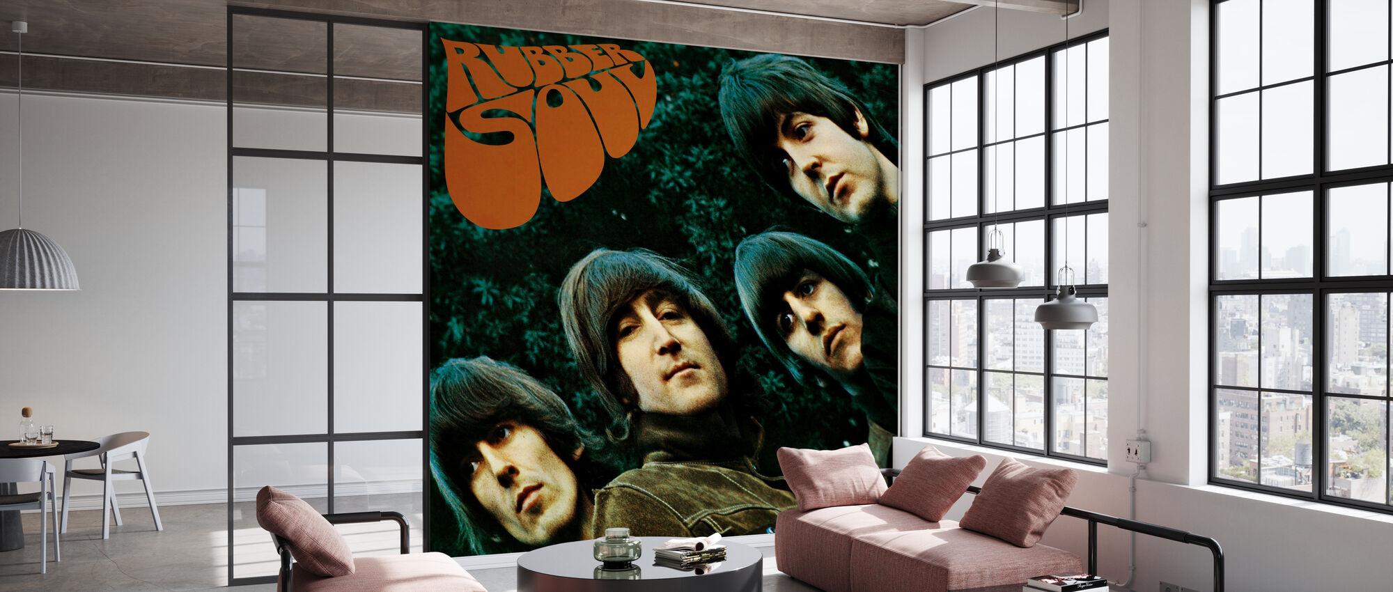 Beatles - Rubber Soul - Papier peint - Bureau