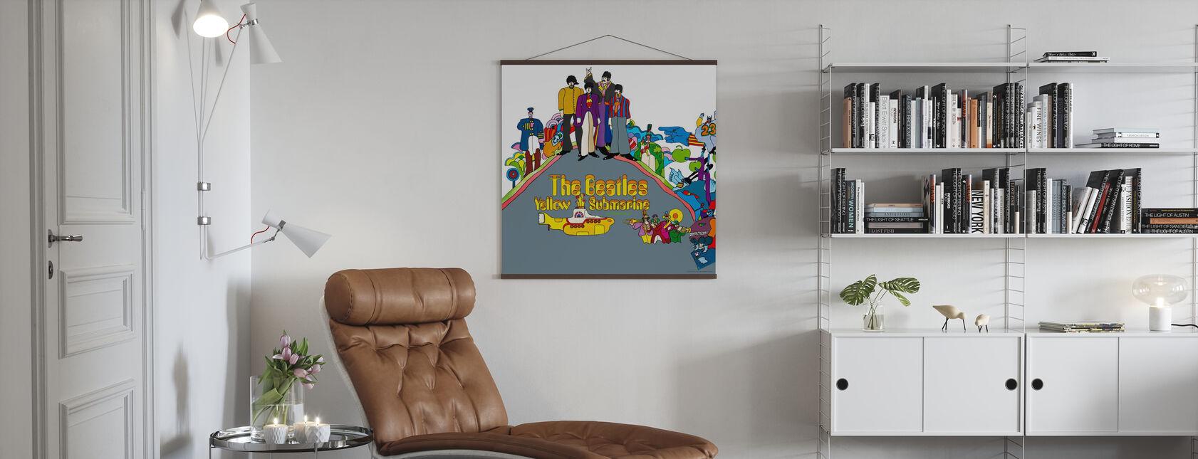 Beatles - Yellow Submarine - Póster - Salón