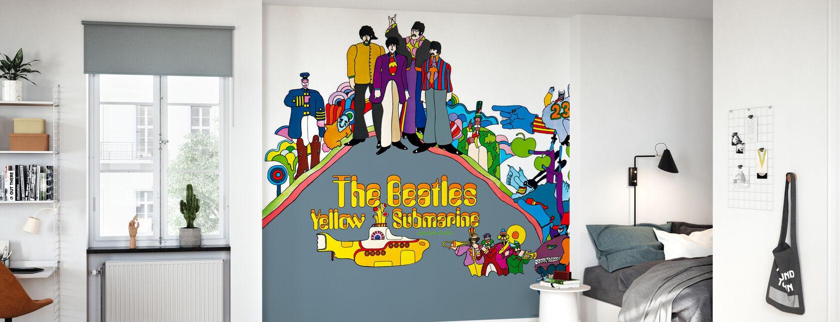Beatles - Yellow Submarine - Wallpaper - Kids Room