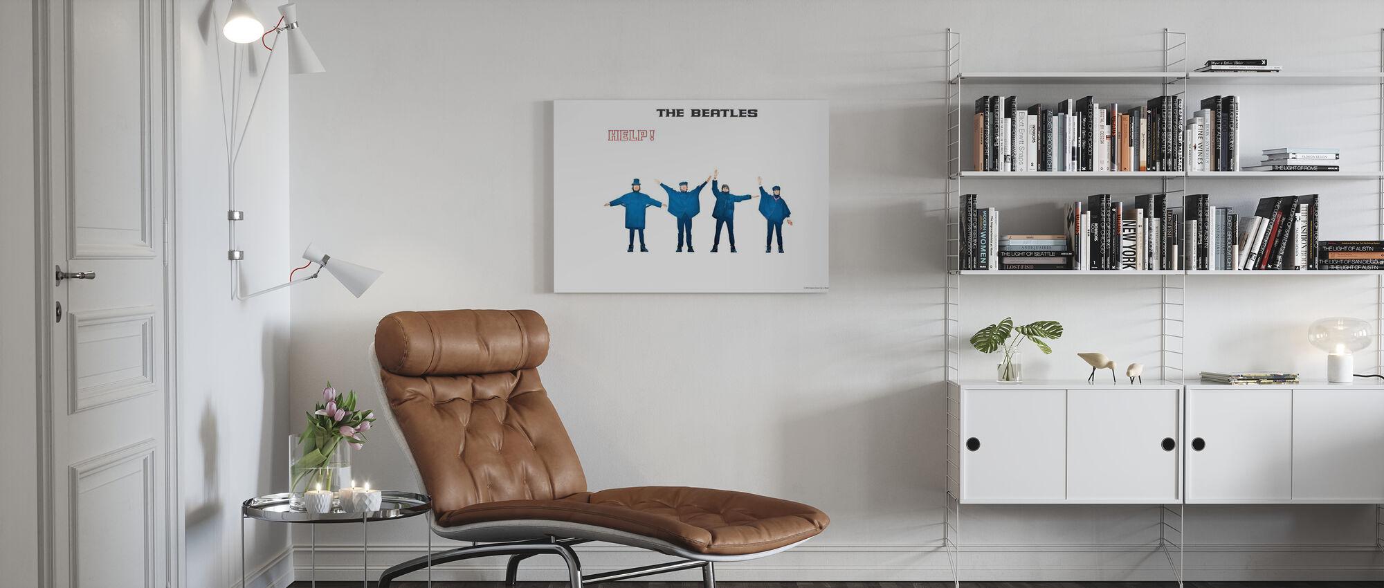 Beatles - Hjælp - Billede på lærred - Stue