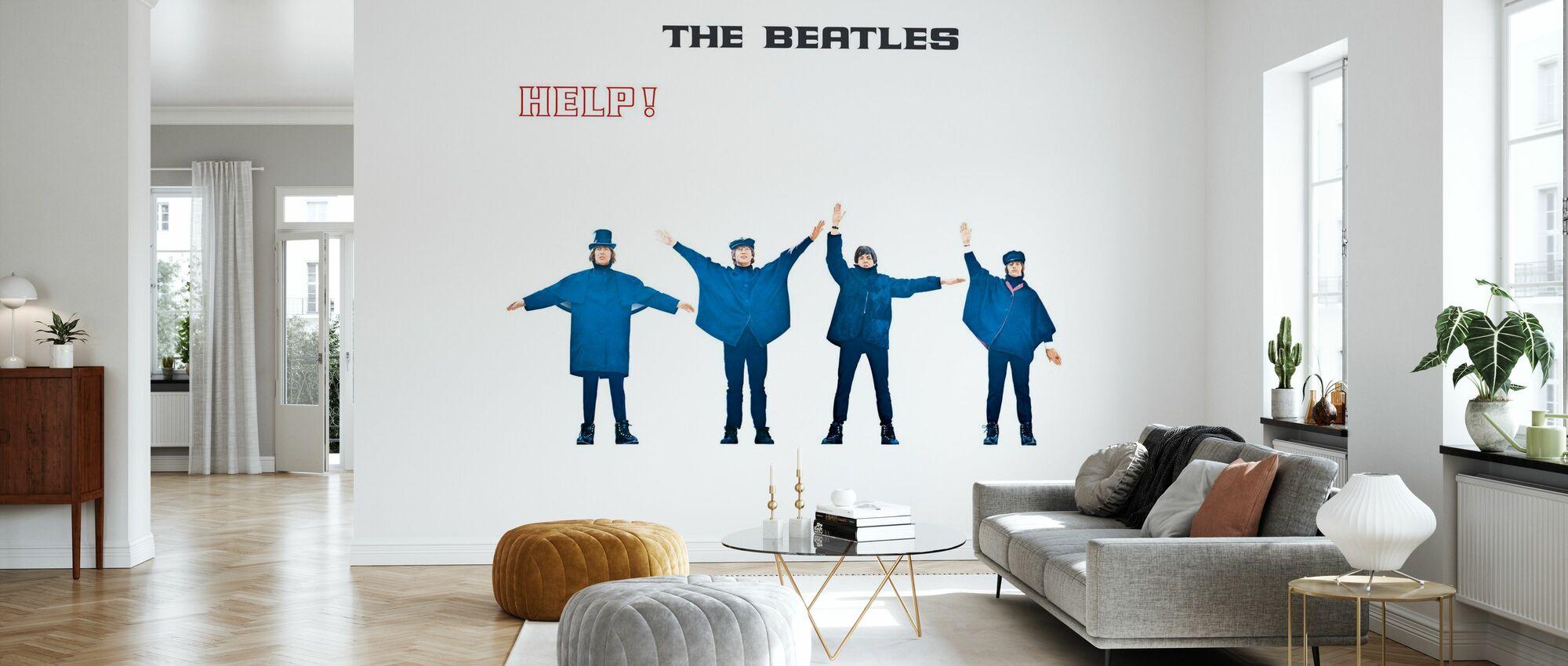 Beatles - Help - Wallpaper - Living Room